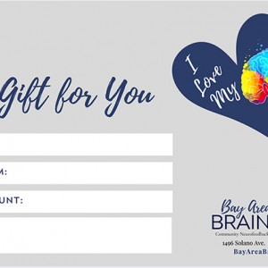 Brain Spa Favorite Gift Card Special