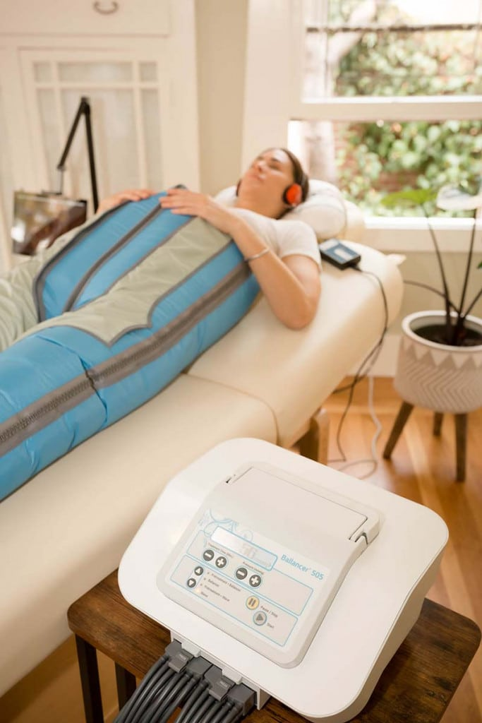 Lymphatic Massage in the BallancerPro